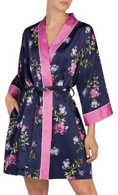 Lauren Ralph Lauren Floral Kimono Wrap Robe