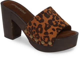 Jeffrey Campbell D-Light Genuine Calf Hair Platform Sandal