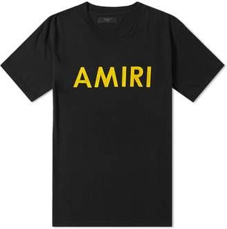 Amiri Logo Tee