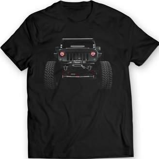 Wrangler DTG MKWTees American Jeep T-Shirts 2014 Mens Tees 100% Cotton (M, )