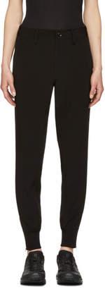 Y's Ys Black Slim Trousers