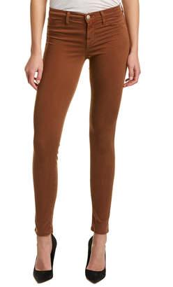 J Brand Luxe Sateen Burnt Umber Super Skinny Leg