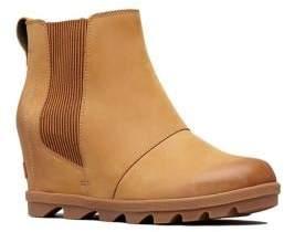 Sorel Joan II Leather Wedge Chelsea Boots