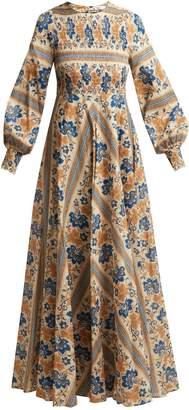 Zimmermann Castile smocked cotton dress