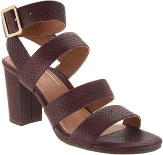 Vionic Suede Block Heel Sandals - Blaire