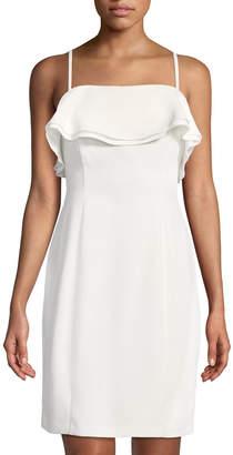 Karl Lagerfeld Paris Ruffled-Bodice Cami Dress