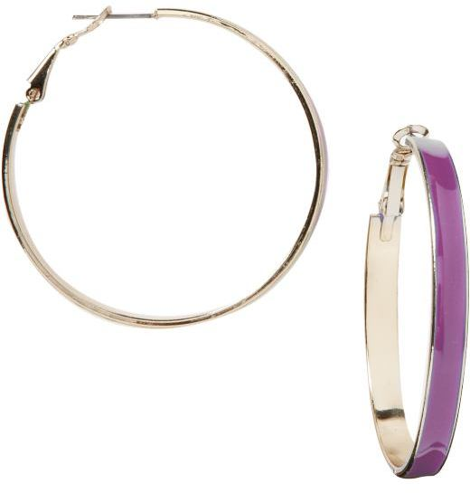 Women's Enamel Hoops