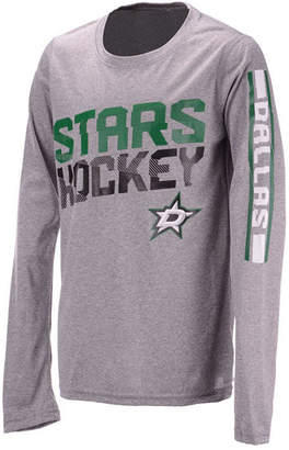 ... Outerstuff Dallas Stars Break Lines Long Sleeve T-Shirt 3e8a99609