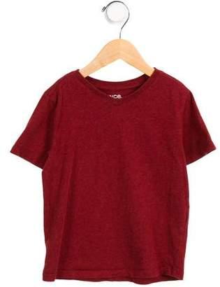 Vince Girls' Lightweight V-Neck T-Shirt