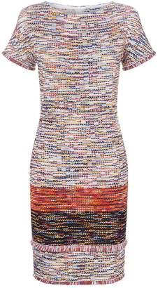 St. John Multicoloured Tweed Mini Dress