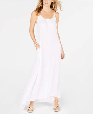 Raviya Crepe Sleeveless Maxi-Dress Cover-Up Women's Swimsuit