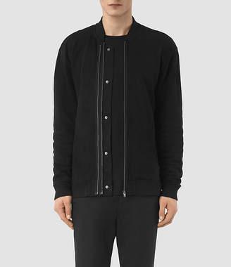AllSaints Double Bomber Sweatshirt