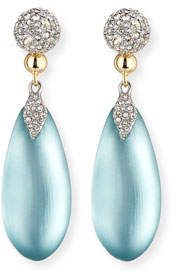 Alexis Bittar Pavé Crystal & Lucite® Teardrop Earrings