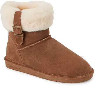 BearPaw Hickory Abby Sheepskin Trim Boots