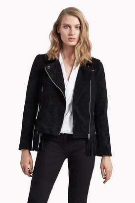 Great Plains Sienna Suedette Biker Jacket