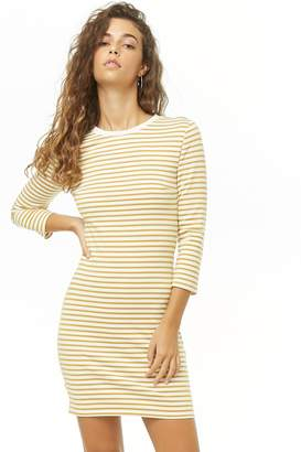 Forever 21 Striped Mini Dress