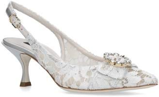 Dolce & Gabbana Lori Slingback Pumps 60