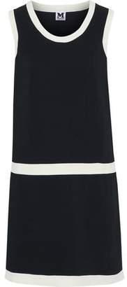 M Missoni Two-Tone Crepe Mini Dress