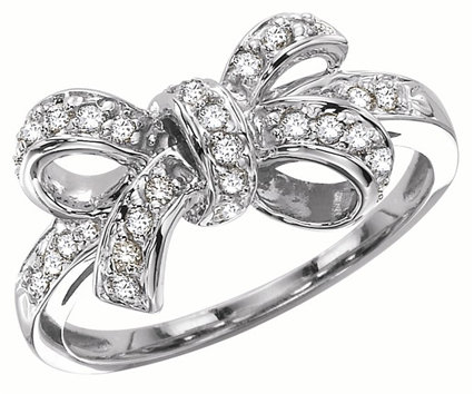 KC Designs Diamond Bow Ring