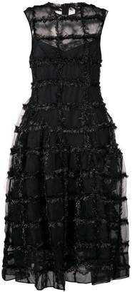 Simone Rocha textured bell dress