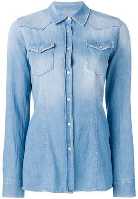 Dondup chest pocket denim shirt