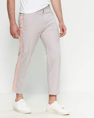 Dickies Construct Light Grey Track Stripe Pants