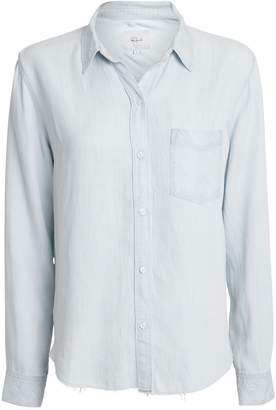 Rails Ingrid Raw Hem Button Down Shirt