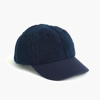 J.Crew Boys' sherpa baseball cap