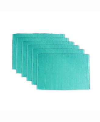 Design Import Ribbed Placemat Set of 6