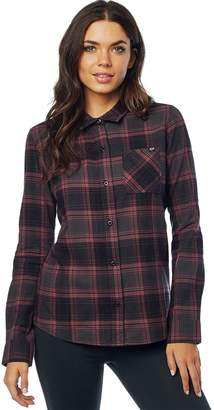 Fox Racing Kick It Long-Sleeve Flannel Shirt - Women's