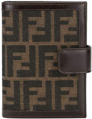 Fendi Pre-Owned Logos Note Book Cover