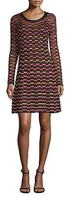 M Missoni Women's Abito Print A-Line Dress