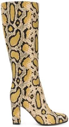 Etro leopard print boots