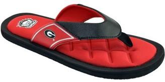 NCAA Michigan Men's Padded Thong Sandals