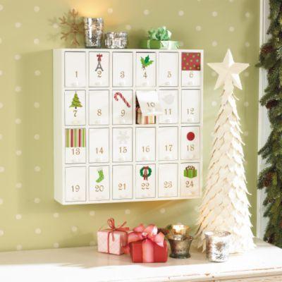 Advent Calendar Cabinet