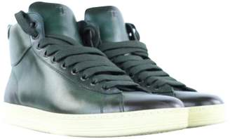Tom Ford Green Leather Boots