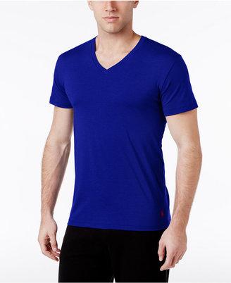 Polo Ralph Lauren Men's Cotton V-Neck Pajama Shirt $28 thestylecure.com