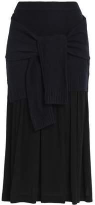 Joseph Wool And Cashmere-Blend Midi Skirt