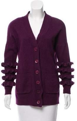 Stella McCartney Wool & Silk-Blend Cardigan