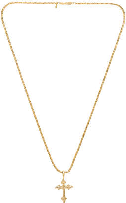 Vanessa Mooney Anastasia Cross Necklace
