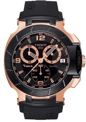 Men's Tissot T-Race Chronograph Silicone Strap Watch, 50Mm $650 thestylecure.com