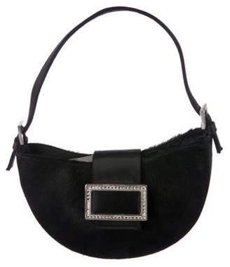 Stuart Weitzman Ponyhair Mini Handle Bag