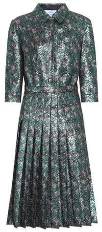 Prada Metallic dress