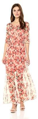 Tracy Reese Women's Nouveau Wasp Silk Maxi Dress