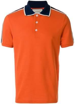Gucci Stripe polo shirt