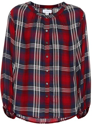 Velvet Fern plaid shirt