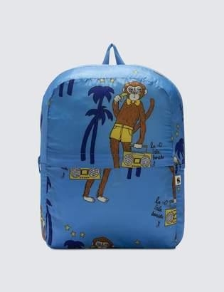 Mini Rodini Cool Monkey Lightweight Backpack