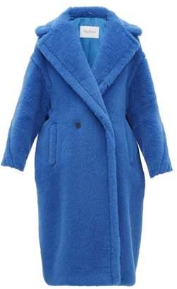 Max Mara Teddy Coat - Womens - Blue
