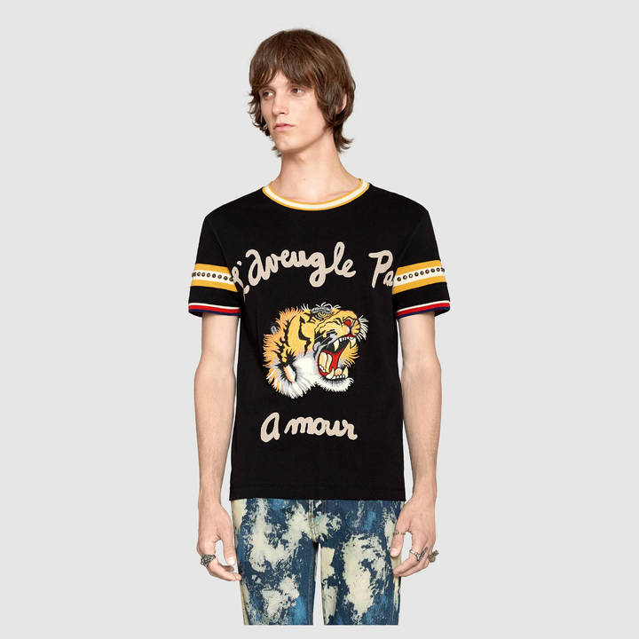 Cotton t-shirt with tiger 6
