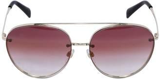 Valentino Aviator Sunglasses W/ Gradient Lenses